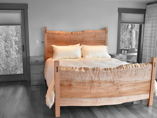 Custom King Bed