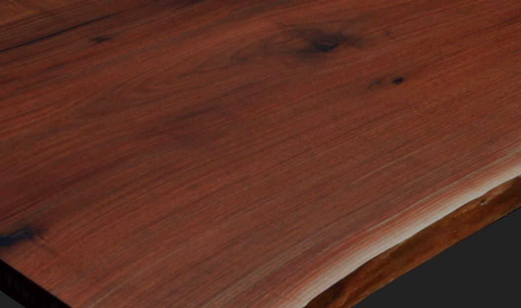 walnut wood grain detail