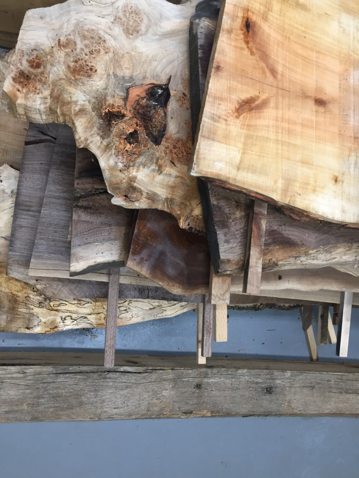 From the Mill to the Shop – Hardwood Slabs make their journey to Vail, Colorado