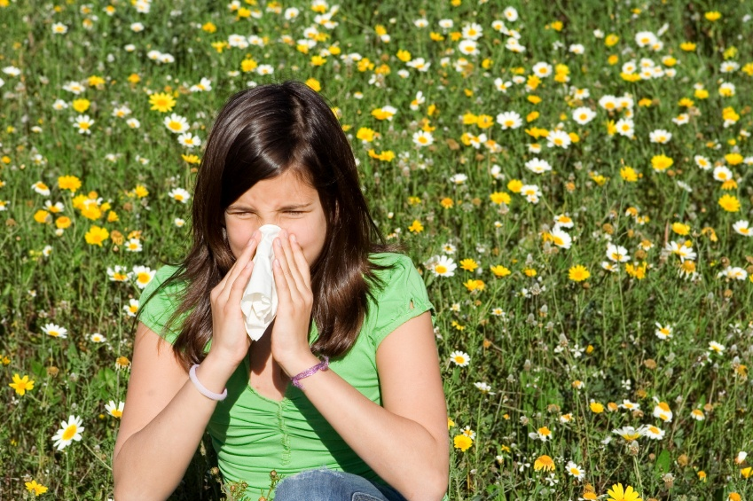 Image result for image of someone affected by hay fever
