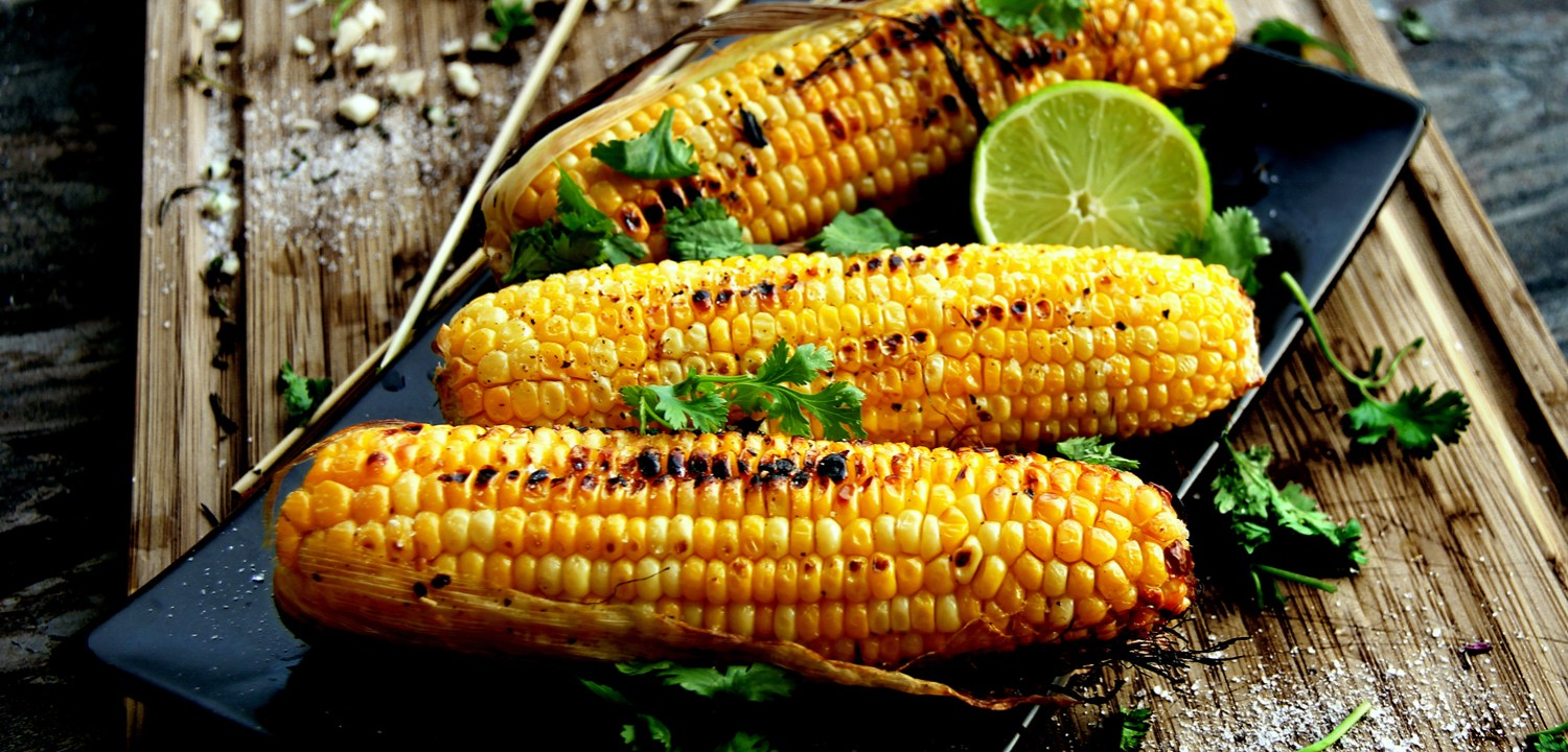 Grilled Cilantro-Lime Corn on the Cob | A Bachelor and His Grill
