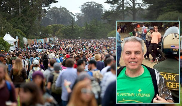 The Festival Lawyer Gives Tips On What To Do If Police Stop You At A
