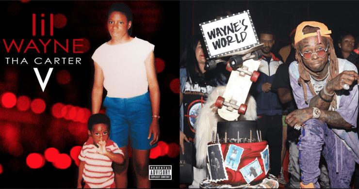ecc088d6bbab0 Lil Wayne Finally Frees  Tha Carter V  After Years Of Ugly Label Battles At  Star-Studded Birthday Bash  Album Stream Photos
