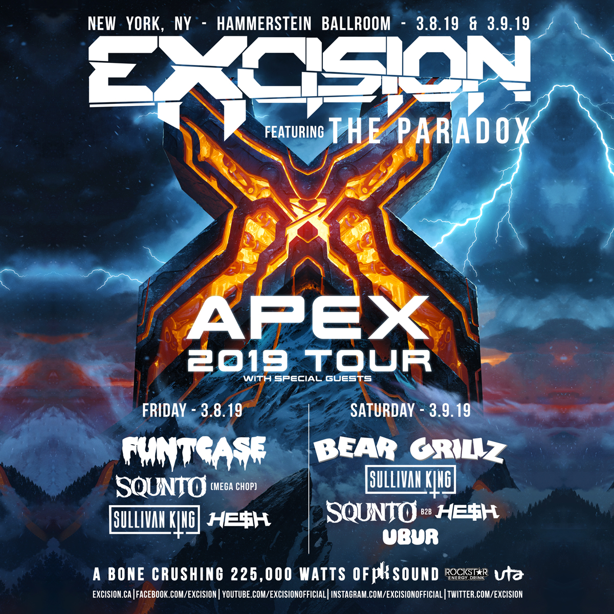 Excision Set To Shake Nycs Hammerstein Ballroom To Its Core With
