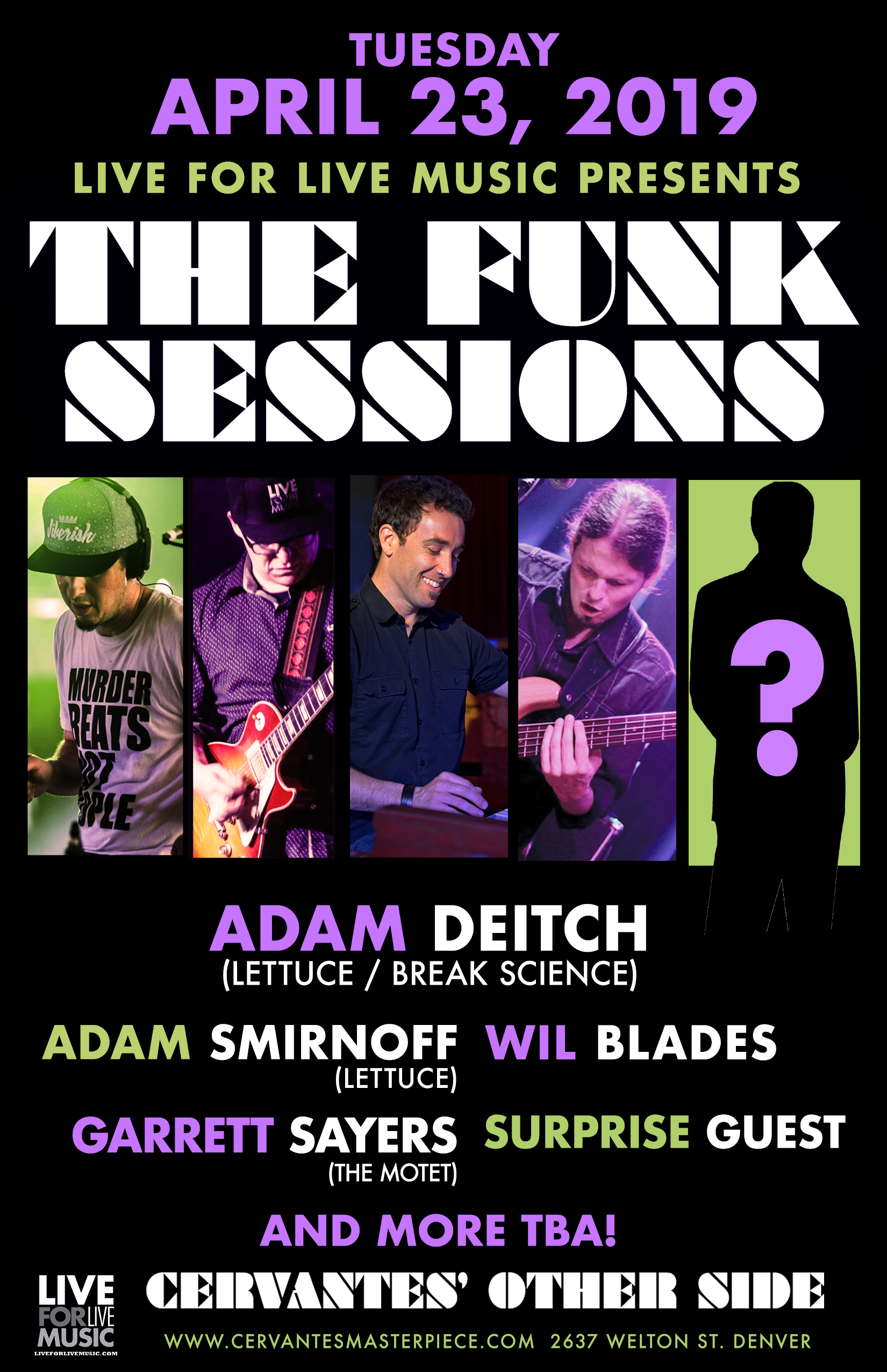 The Funk Sessions, Funk Sessions, Adam Deitch, Adam Smirnoff, Garrett Sayers, Wil Blades