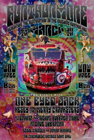 23dc83b4811 Zane Kesey And The Merry Pranksters Announce Furthur Restoration ...