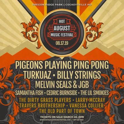 Hot August Music Festival, Hot August, Hot August Music Festival, Hot August 2019, Hot August Music Festival 2019