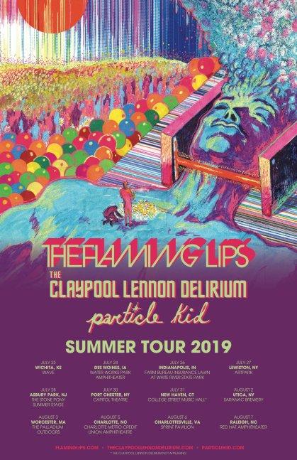 The Flaming Lips The Claypool Lennon Delirium Announce