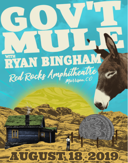 Gov T Mule Announces 2019 Red Rocks Show With Ryan Bingham