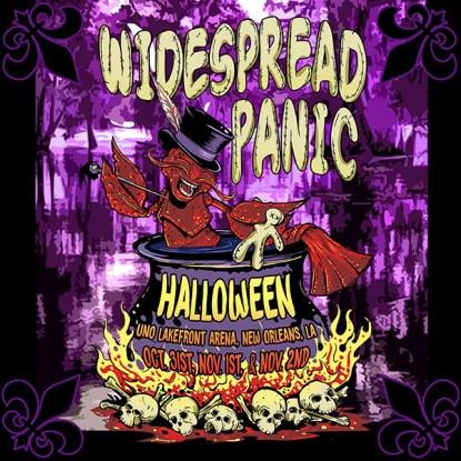 Widespread Panic Halloween, Widespread Panic New Orleans, Widespread Panic tickets,