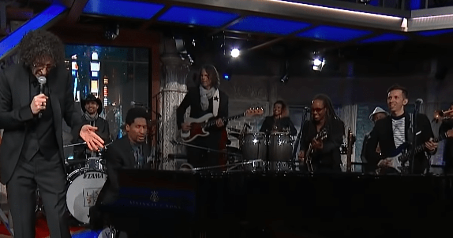 Howard Stern Joins Jon Batiste & Stay Human, Cory Wong, Tim Lefebvre On 'The Late Show' [Watch]