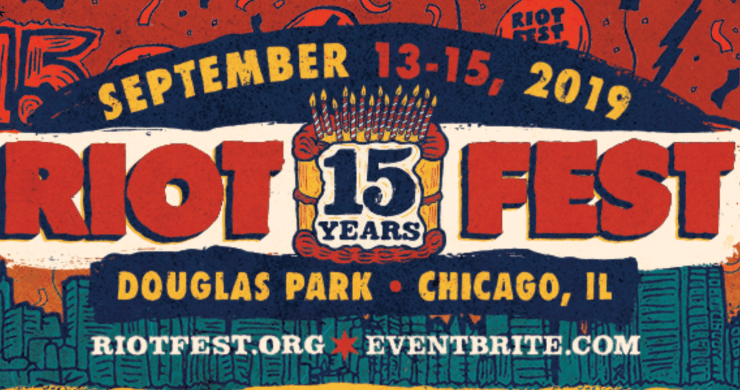 riot fest lineup, riot fest, riot fest 2019 lineup, the raconteurs, the flaming lips, ween, blink-182, slayer, the b-52s