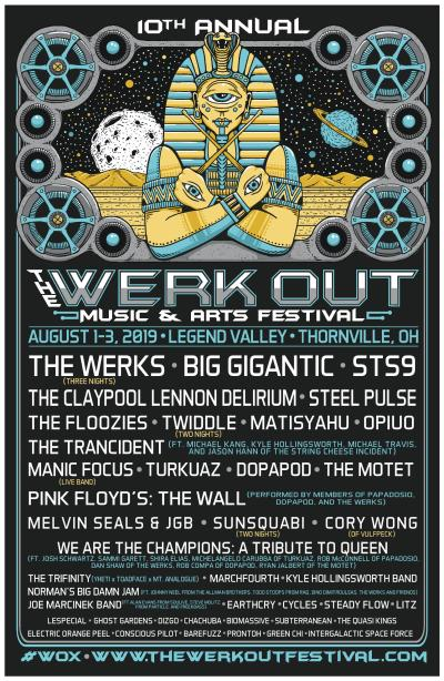 Werk Out Music Festival 2019 Lineup, Werk Out Music Festival, The Werks, Werk Out, Werk Out Music Festival lineup, Werk Out Music Festival tickets