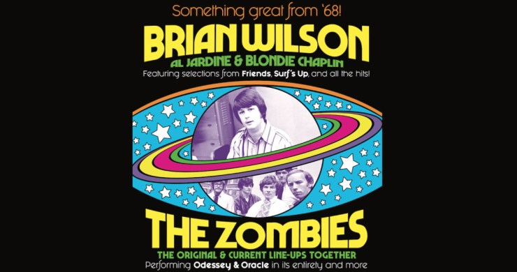 Brian Wilson, Brian Wilson Zombies, Beach Boys, The Zombies, Brian Wilson Zombies Tour, Brian Wilson Zombies Tour 2019, zombies brian wilson, something great from '68