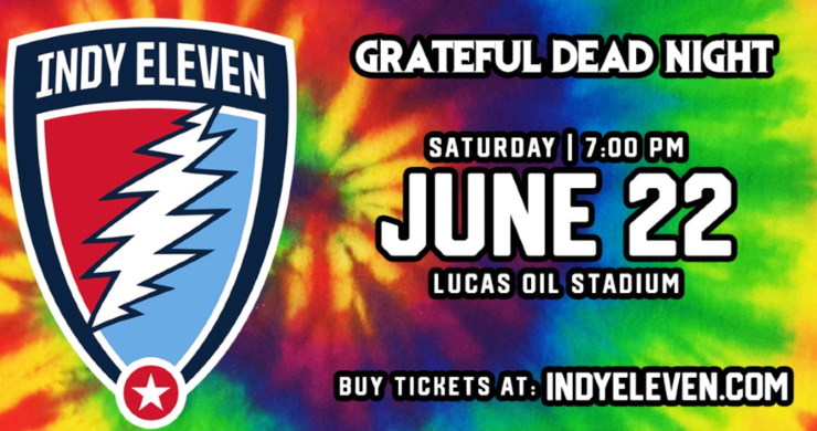 indy eleven grateful dead night, indy eleven grateful dead, grateful dead, indy eleven
