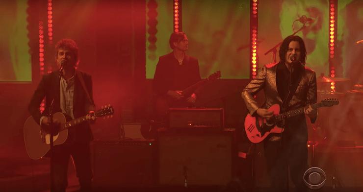 "The Raconteurs Perform ""Help Me Stranger"" on 'Colbert' [Watch]"