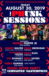 Phish Afterparty, The Phunk Sessions, George Porter Jr, Robert Walter, The Motet, Turkuaz