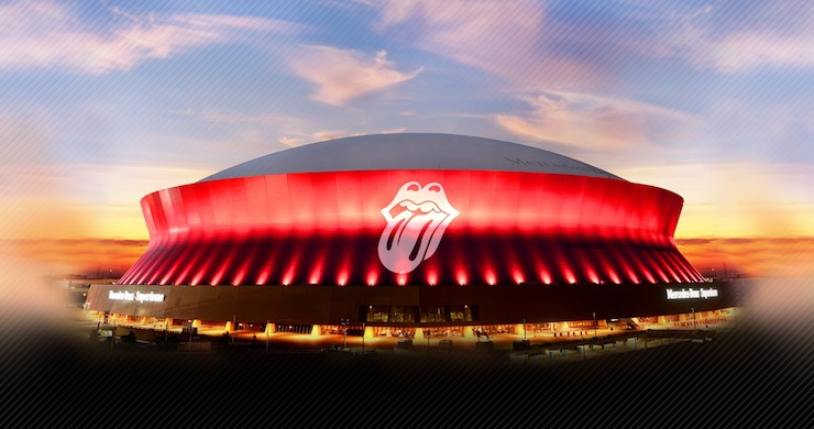 The Rolling Stones Reschedule New Orleans Performance (Again) Due To Tropical Storm Barry