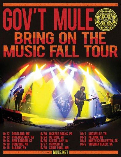 gov't mule fall tour