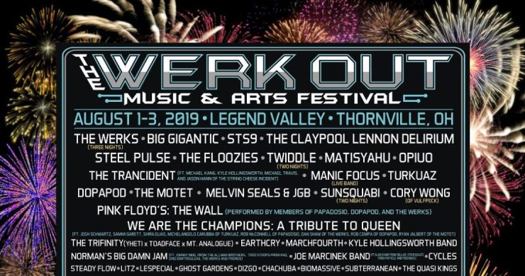 The Werk Out, The Werk Out Festival, The Werk Out Festival Lineup