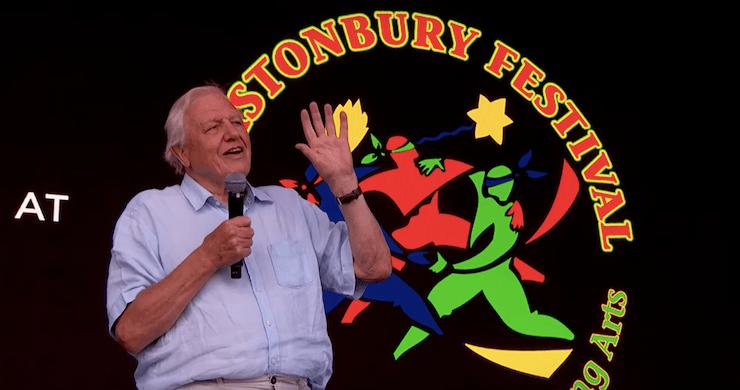 David Attenborough Delivers Surprise Anti-Plastic Speech At Glastonbury [Watch]