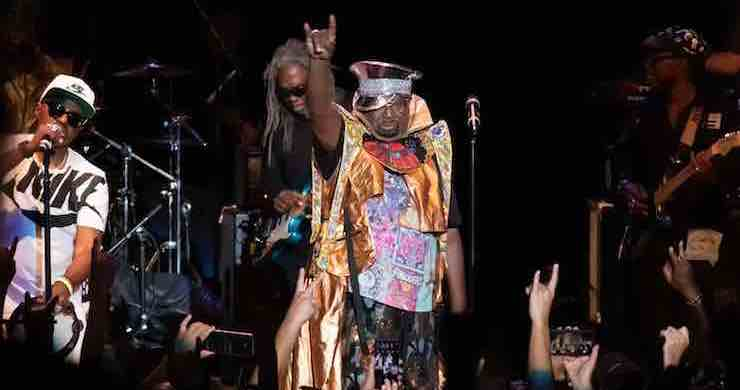 george clinton parliament funkadelic greek theatre