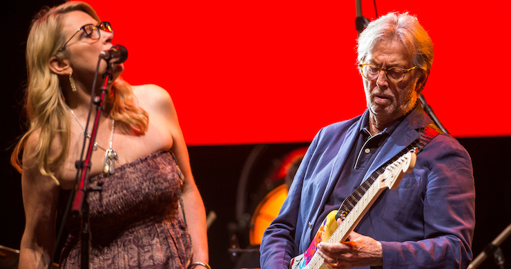 Clapton Welcomes John Mayer, Tedeschi Trucks Band, More At Crossroads Guitar Festival Night Two [Videos/Photos]