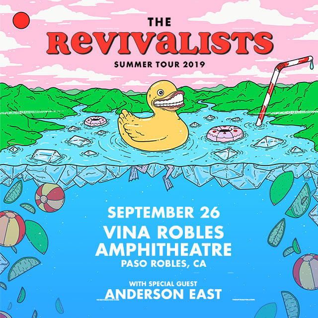 The Revivalists, The Revivalists Vina Robles Amphitheatre, Vina Robles Amphitheatre