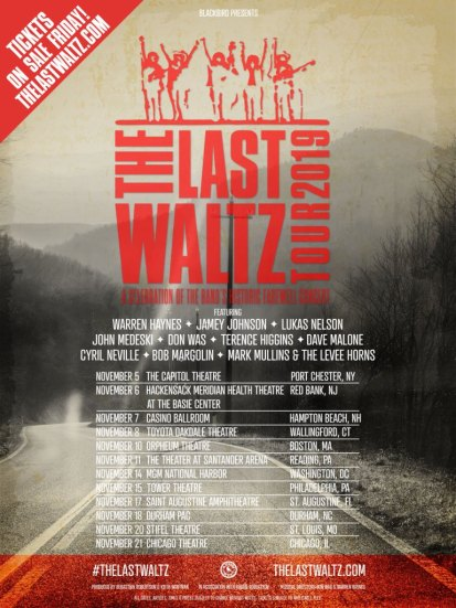 the last waltz tour