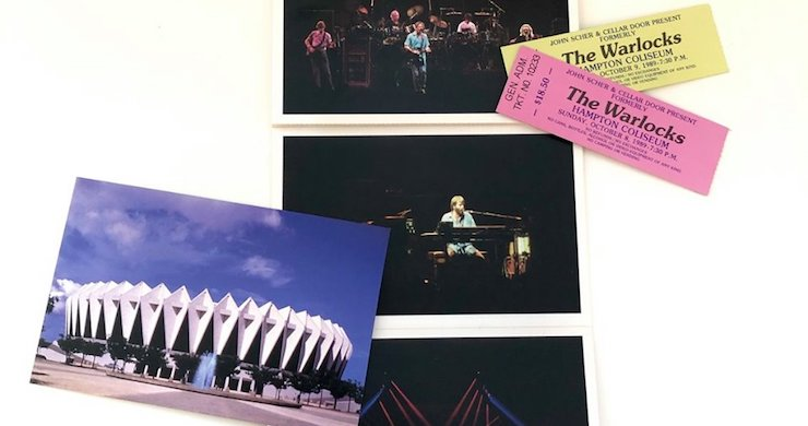 Grateful Dead Revive The Warlocks At Hampton Coliseum, On This Day In 1989 [Listen]