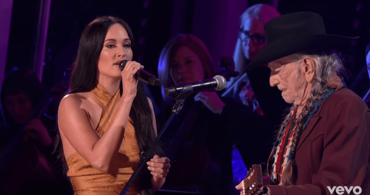 Willie Nelson Kacey Musgraves, Willie Nelson Kacey Musgraves Rainbow Connection, Rainbow Connection CMAs