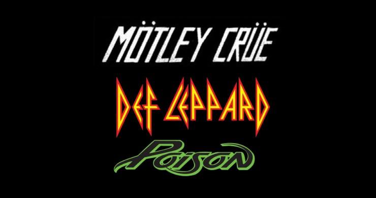 Mötley Crüe, Def Leppard, Poison, Mötley Crüe tour, Def Leppard Tour, Poison Tour, Mötley Crüe Def Leppard Poison, Mötley Crüe reunion