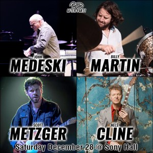 Medeski Martin Metzger Cline phish after party