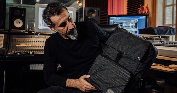 Serj Tankian, HEX, backpack, System Of A Down, music, unreleased, art, Space Clock