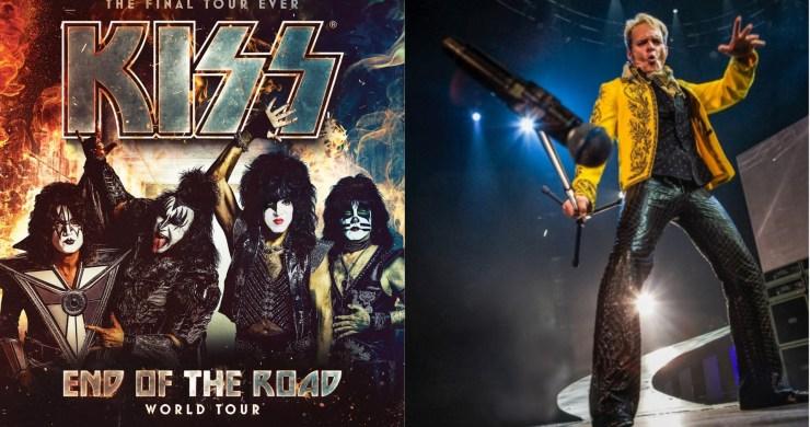 Kiss David Lee Roth, Kiss End of the Road World Tour, Kiss End of the Road Tour, Kiss David Lee Roth End of the Road Tour, Kiss David Lee Roth End of the Road World Tour