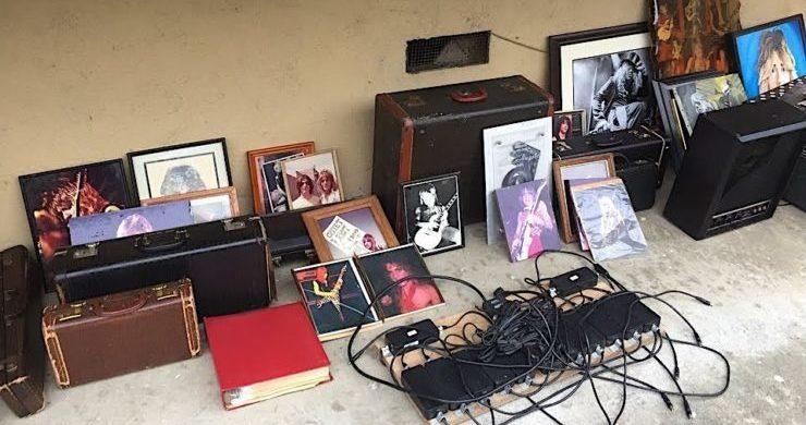 Randy Rhoads, Ozzy Osbourne, stolen, reward, memorabilia, Musonia School of Music, Hollywood, found