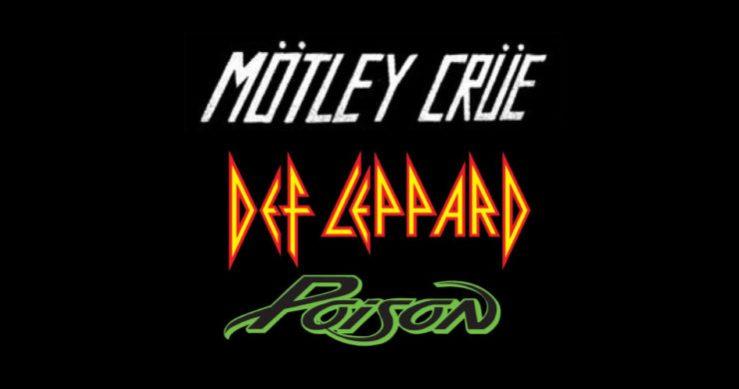 Mötley Crüe, Def Leppard, Poison, Joan Jett, The Stadium Tour, Mötley Crüe Def Leppard Poison tour, The Stadium Tour dates