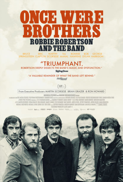 The Band, Once We Were Brothers trailer, Once We Were Brothers: Robbie Robertson & The Band, Martin Scorsese, Martin Scorsese The Band, The Band documentary, Robbie Robertson