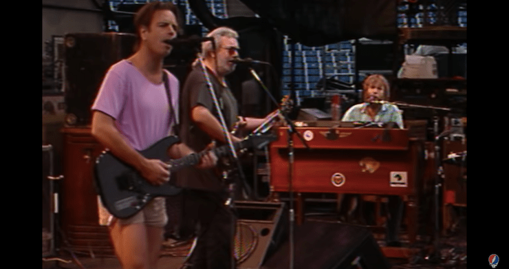 """Grateful Dead 'All The Years Live' Video Series: """"Cold Rain And Snow"""" From From Orchard Park 1989 [Watch]"""
