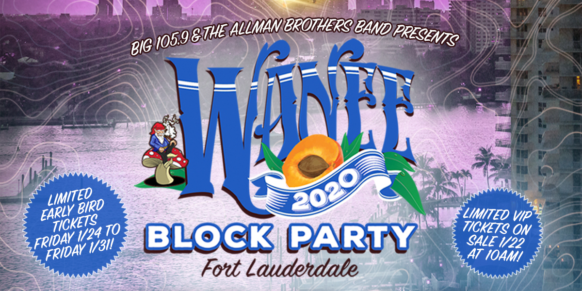 Wanee Block Party Announces 2020 Lineup: Jason Bonham, Blues Traveler, Jaimoe & Friends, More