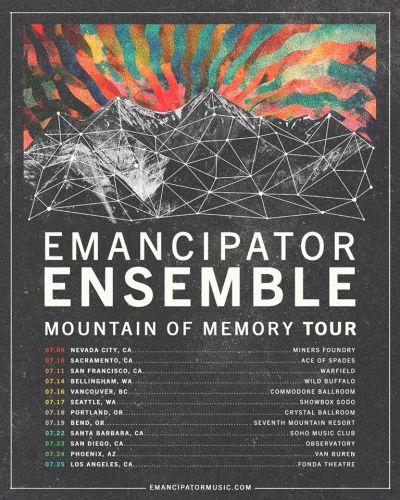 emancipator ensemble tour, emancipator mountain of memory, mountain of memory
