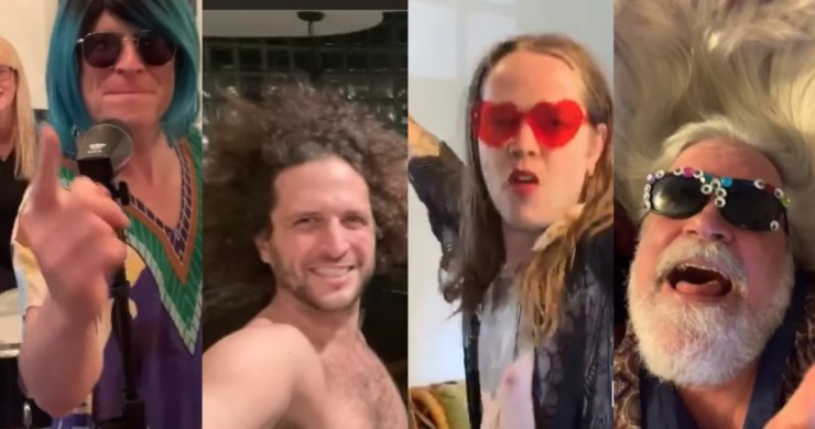 Andy Frasco, Man I Feel Like A Woman, Quarantine Video, Andy Frasco Quarantine, Andy Frasco Feel Like A Woman, Andy Frasco Billy STrings, Andy Frasco Music, Andy Frasco Podcast