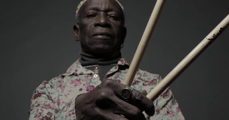 tony allen, tony allen drummer, tony allen music, tony allen afrobeat, afrobeat drumming