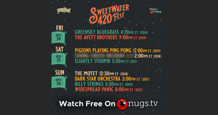 sweetwater 420, sweetwater 420 livestreams, sweetwater 420 festival streams