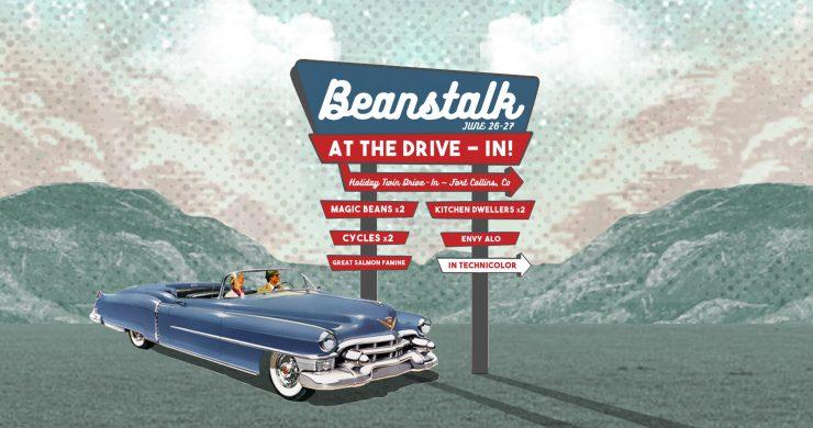 Beanstalk Drive-In, Drive-In Festival, Drive-in concert, drive-in music festival, magic beans music