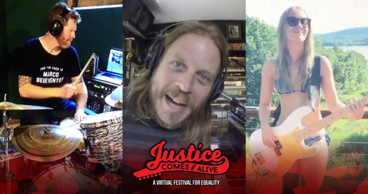 marco benevento, marco benevento trio, justice comes alive, black lives matter music, karina rykman