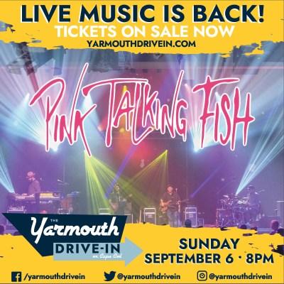 pink talking fish drive-in