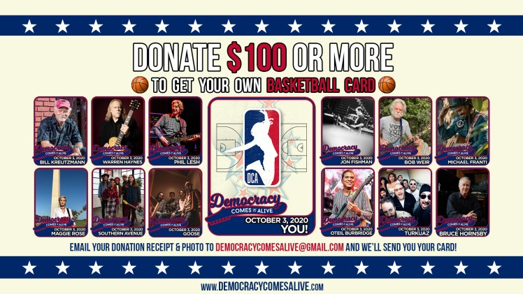democracy comes alive basketball cards