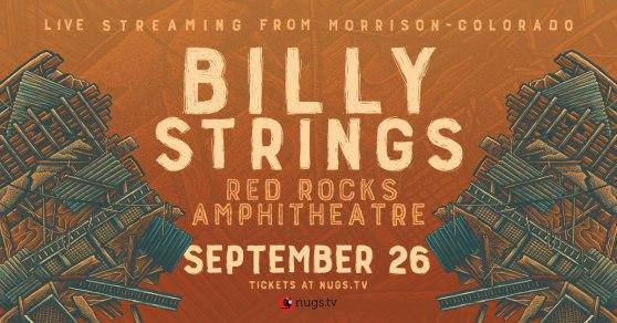 billy strings, billy strings red rocks, red rocks shows, red rocks stream