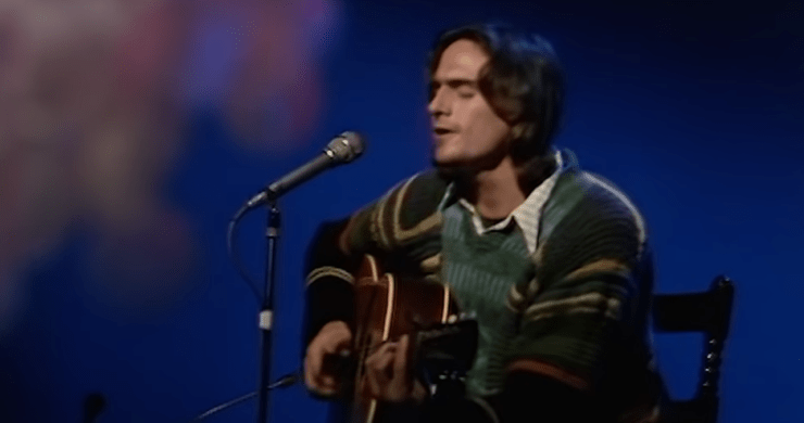 James Taylor Help From Friends, james taylor archive, james taylor video, james taylor 11/16/70, james taylor get by with a little help from my friends, james taylor beatles, beatles cover, james taylor archival video
